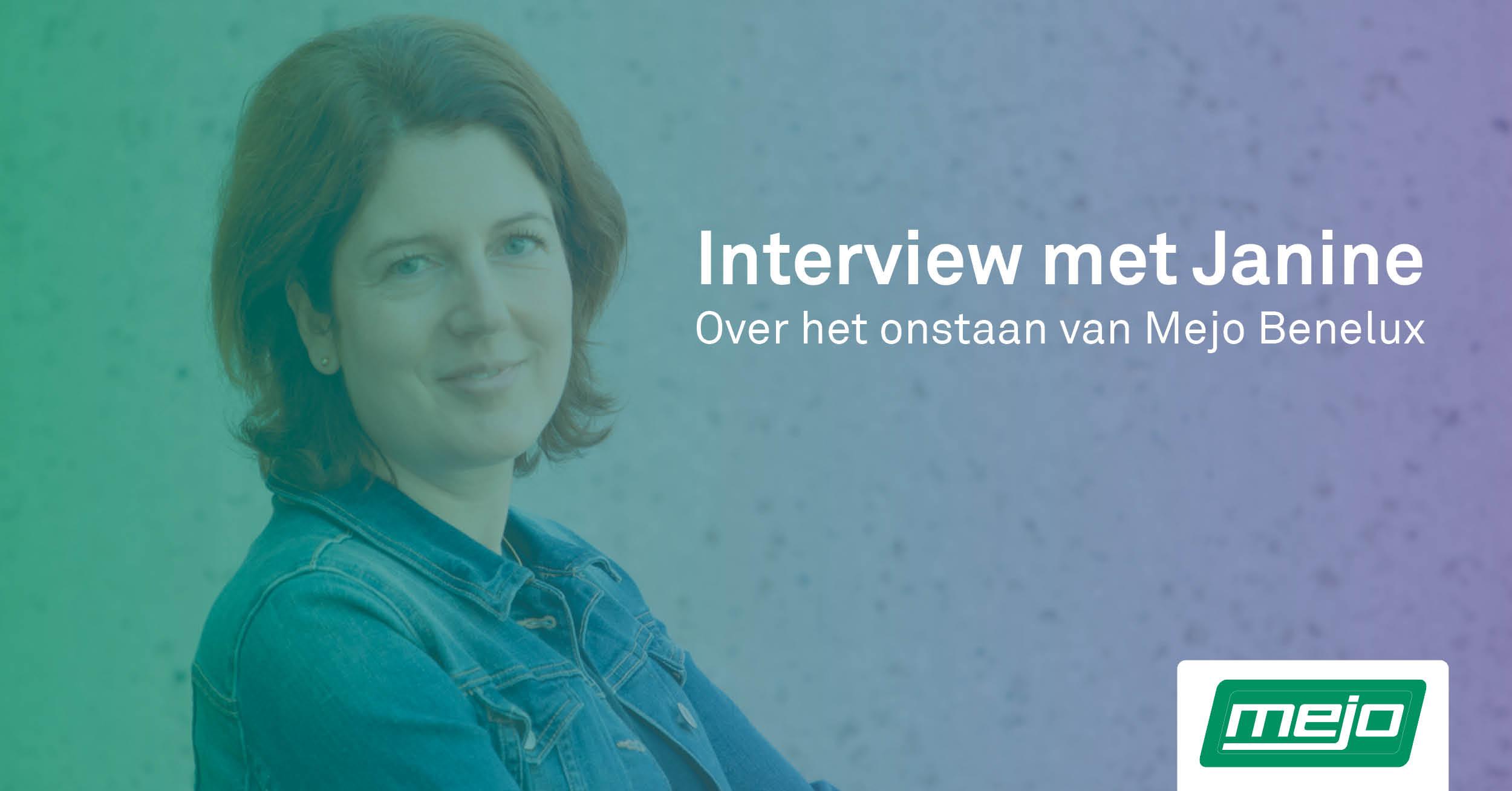 Interview met Janine Panis hoe Mejo Aluminium is ontstaan